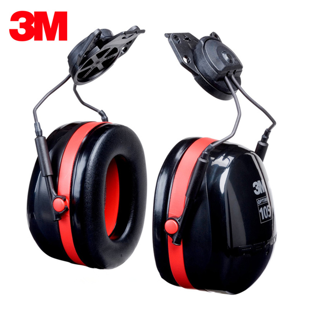 3M H10P3E Wear Earmuffs Noise Protection Sound Insulation Adjustable Noise Canceling Headphones Shooting Earmuffs