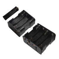 50Pcs 2x 6x 8x AA Battery Holder Case Box Double Side for 1.5 V AA Battery Back to back Buckle for AA batteries Organizer Box