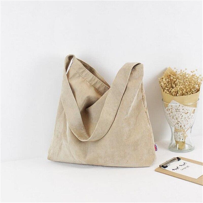 d61e334e3 Compre Osmond Mulheres Bolsa Feminina Simples Corduroy Bao Bao ...
