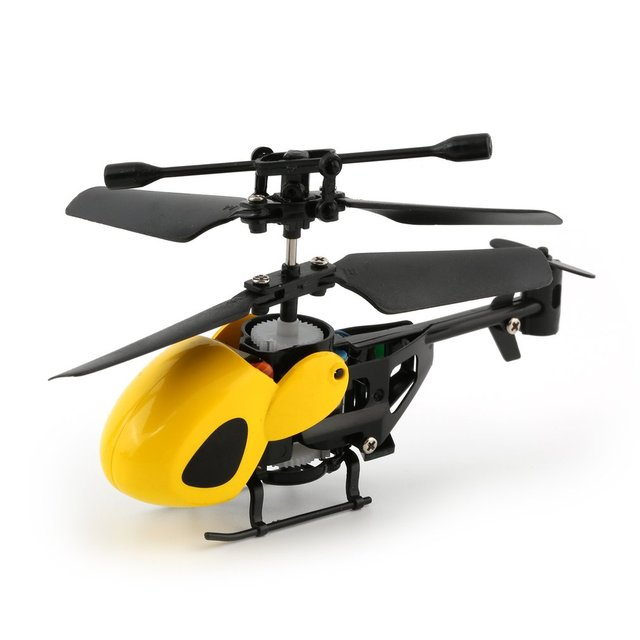 Flying Mini RC Helicopter Kid's RC Toys Mini RC Plane Radio Remote Control Aircraft Micro 2 Channel RC 5012 four colors