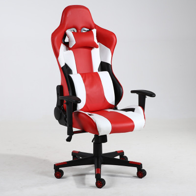 Gaming chair/massage Home office can lie down computer chair / boss massage chair /Ergonomic cortex 240320 home office can lie down high density inflatable sponge 360 degrees can be rotated computer chair boss massage chair