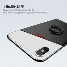 ROCK Ring Holder PP Protection Case for iPhone X