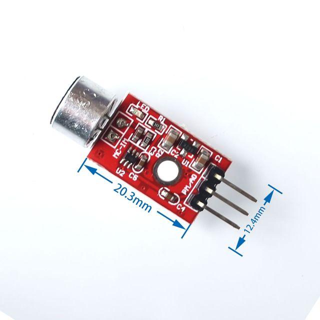 MAX9812 MAX9812L Microfoon Versterker Sound MIC Voice Module 3.3 v/3.5 v