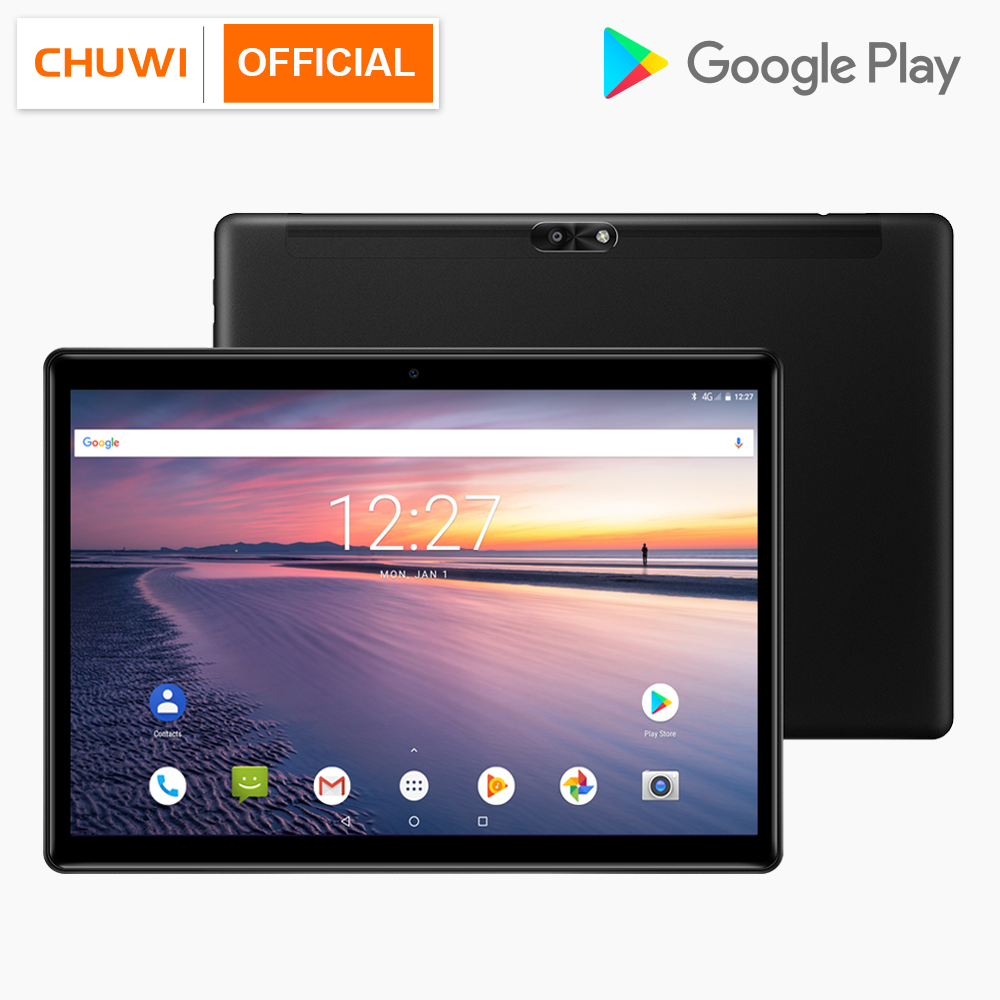 CHUWI Hi9 Air 10.1 Pouces 2560x1600 MT6797 X23 Deca Core 4 GB 64 GB 13.0MP + 5.0MP Double caméra GPS 4G Tablet Android