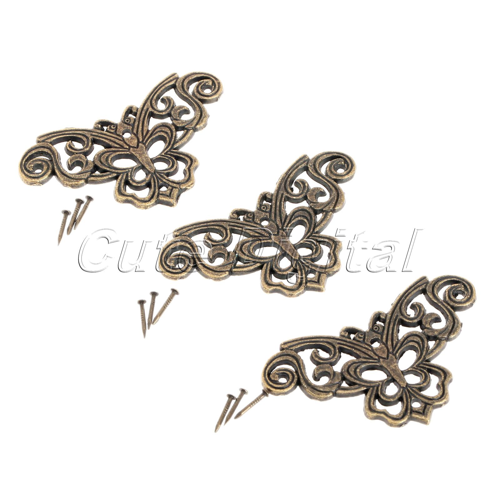 Pcs zinc alloy metal decorative corner bracket luggage