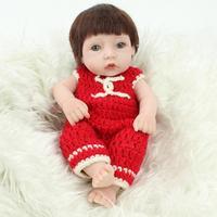 Reborn Bebek Bebek Gerçek Bebek El Yapımı Reborn 28 cm Gerçek Görünümlü Yenidoğan Bebek Kız Silikon Gerçekçi Bebek