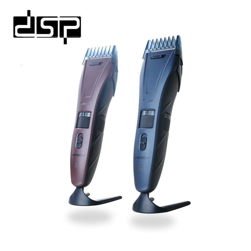 DSP Rechargeable Hair Clipper Professional Electric Hair Beard Trimmer For Man Family Travel Barber Use Hair Cutting Machine rechargeable hair clipper with accessories set 220 240v ac