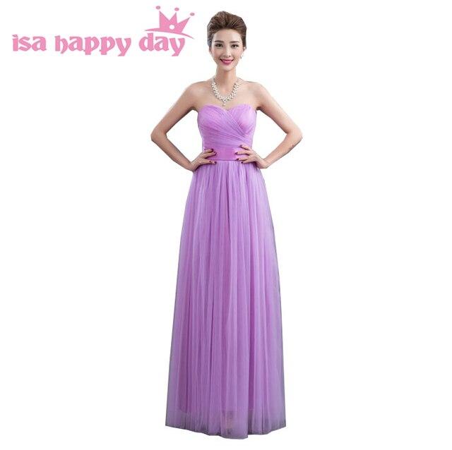 aba65b10a6 Hermosas chicas dulces 16 lila sin tirantes simple bola completa vestido  largo traje de graduación de