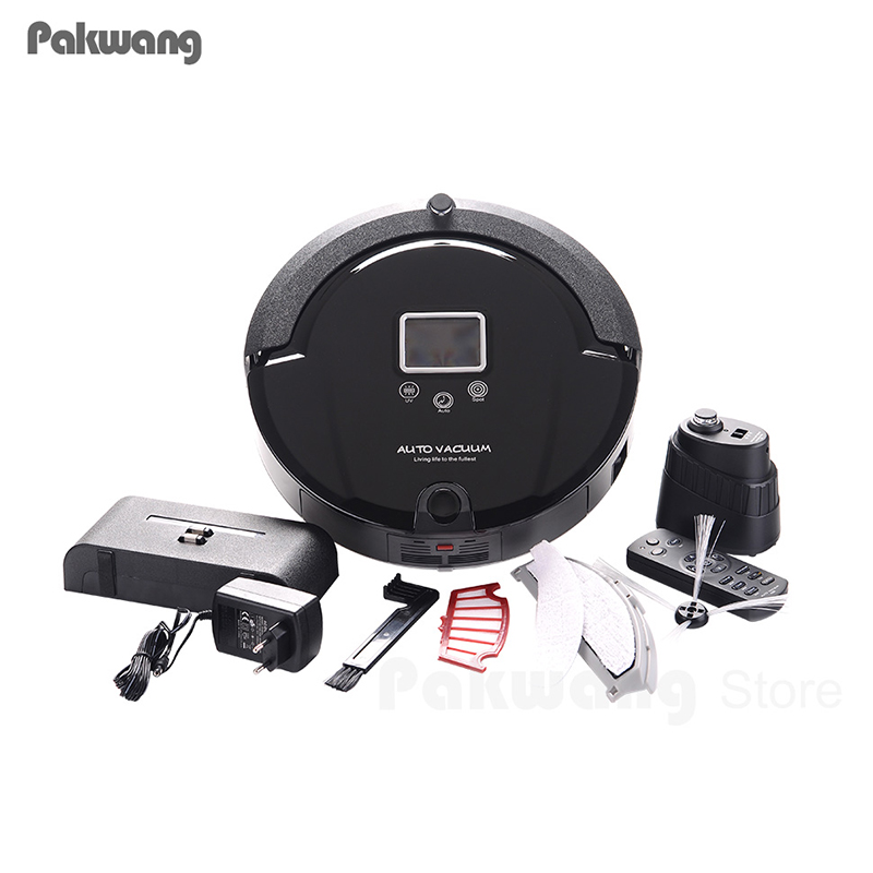 2018 PAKWANG Vacuum Cleaner For Home,Multifunction(Sweep,Vacuum,Mop,Sterilize),Touch Screen,Schedule,Floor Tile