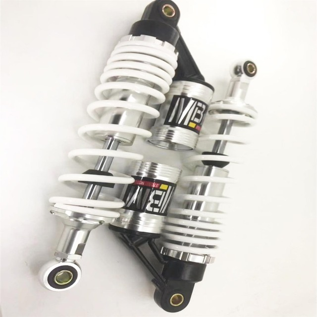 "12.5"" 320mm Universal Shock Absorbers for Honda Yamaha Suzuki Kawasaki Dirt bikes Gokart ATV Motorcycles and Quad ZL400"