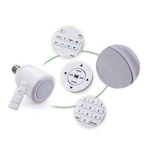 Image 3 - Kuran ı kerim LED ışık ampul kablosuz Bluetooth hoparlör uzaktan kumanda kısılabilir E27 müslüman kuran Reciter FM radyo TF MP3 müzik lamba ampulü