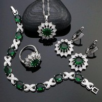 925-Sterling-Silver-Jewelry-Sets-For-Women-Green-Stone-White-Cubic-Zirconia-Earrings-Pendant-Necklace-Ring.jpg_200x200