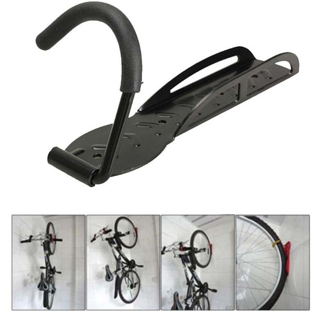 1 Set Black Steel Cycling Bike Storage Hanger Hook Screw Inbolt Garage Wall Mount Rack Hook  sc 1 st  AliExpress.com & 1 Set Black Steel Cycling Bike Storage Hanger Hook Screw Inbolt ...