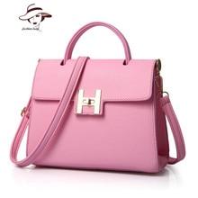 Famous Brand Handbags Female Designer Handbags High Quality Luxury Women H Word Bag Hasp Leather Handbag Women Tote Bags Bolsos