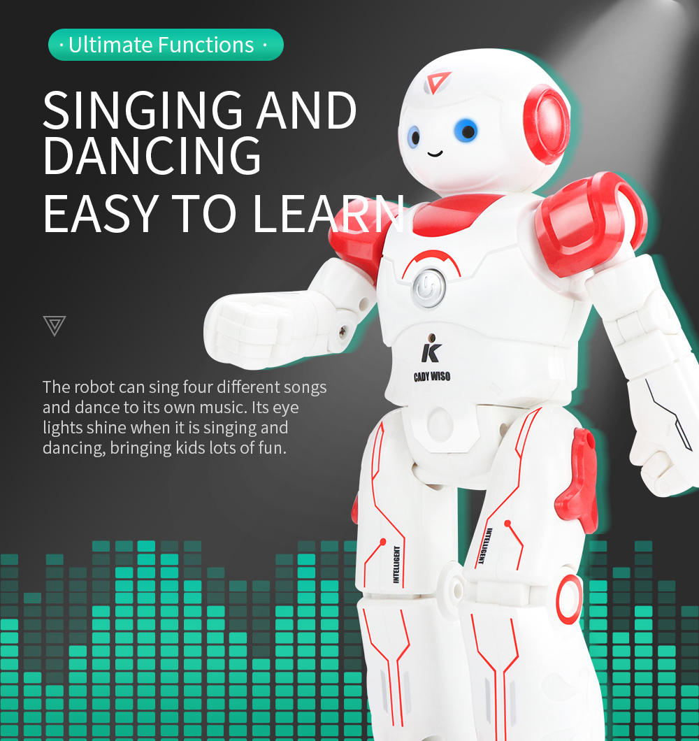 JJRC R12 Remote Control Smart Robots Cady Wiso RC Robot Gesture Sensing Touch Intelligent Dancing Electronic Toy For Children (7)