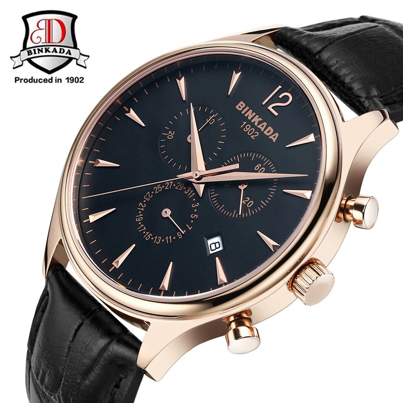 2017 Relojes Hombre Top Brand Quartz Watch Men Casual Business Leather Analog Watch Men's Relogio Classic Design For Men