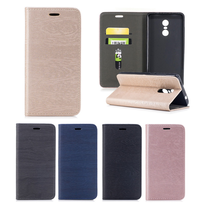 Wallet Book-Case Soft-Card-Holder Coque-Redmi Note 5a Xiaomi Magnetic for 4A 4x4 Prime