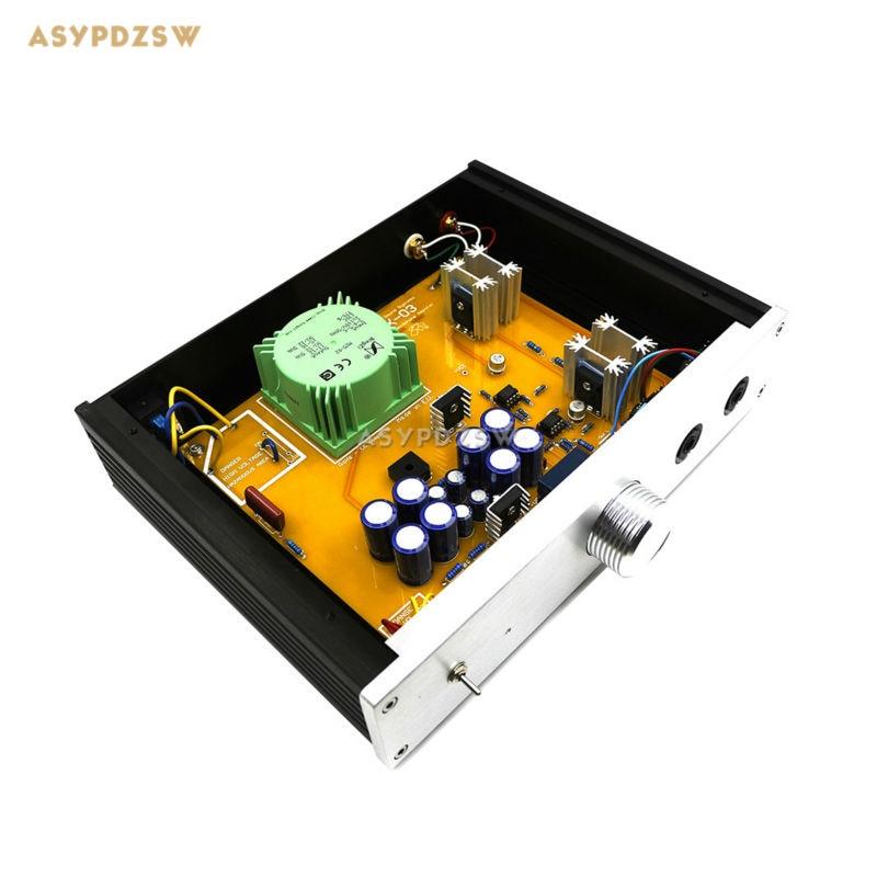 rudistor nx03 - Finished NX03 Headphone power amplifier Clone RudiStor NX-03 Headphone amp