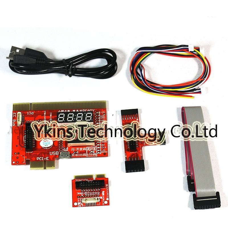KQCPET6 V6 Upgraded Multifunction Laptop And Desktop PC Universal Diagnostic Test Debug Support PCI,PCI-E,LPC,Mini PCI E