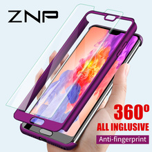 ZNP Luxury Hard 360 Full Cover Protection Case For Huawei P10 Plus P20 Pro Case For