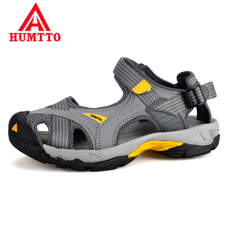 New Limited Men Upstream Breathable Summer Women Aqua Shoes Rubber Sandals Air Mesh Wading Quick Dry Beach Male Outdoor Hot Sale