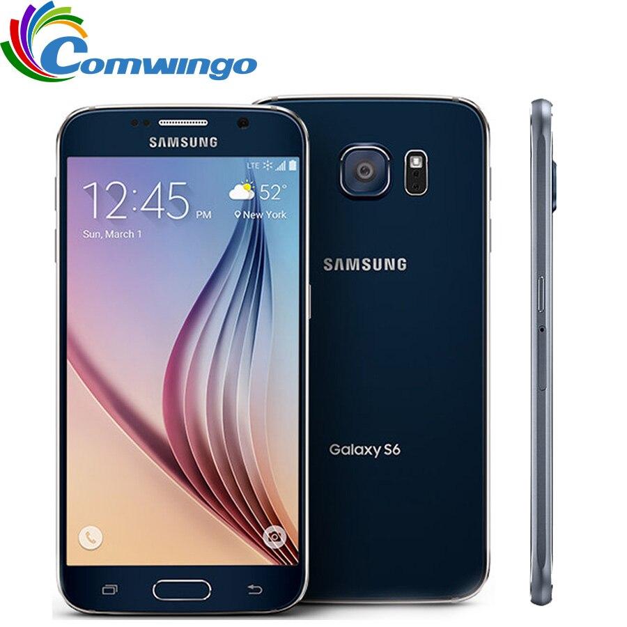 Sbloccato originale Samsung Galaxy S6 3 gb di RAM 32 gb di ROM Del Telefono Mobile Octa Core 16MP GPS NFC Rinnovato S 6 Smartphone