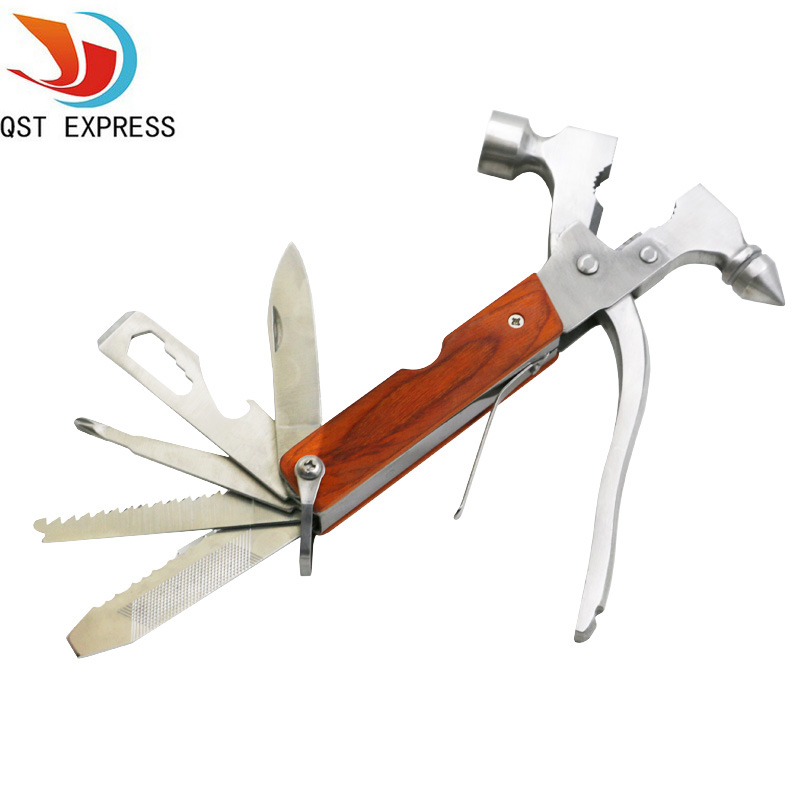 Multi function Hand Tool Safety Hammer Stainless Steel Auto Emergency Kit Hand Tool With Safety Hammer