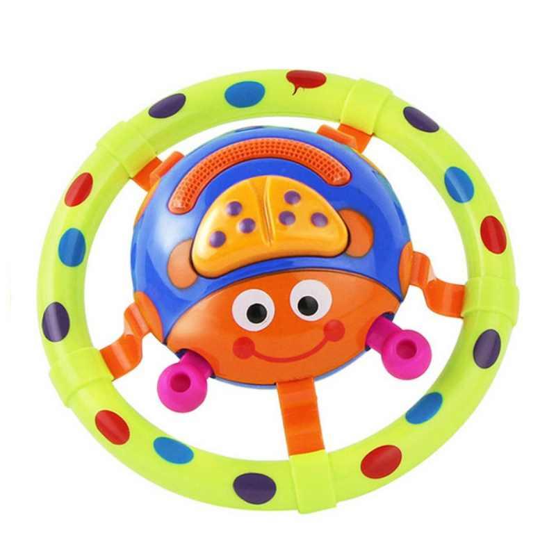 Cor Aleatória Novo Joaninha Do Bebê Agarrar Brinquedos Musicais Encantadores Brinquedos Educativos de Matemática Brinquedos Divertidos