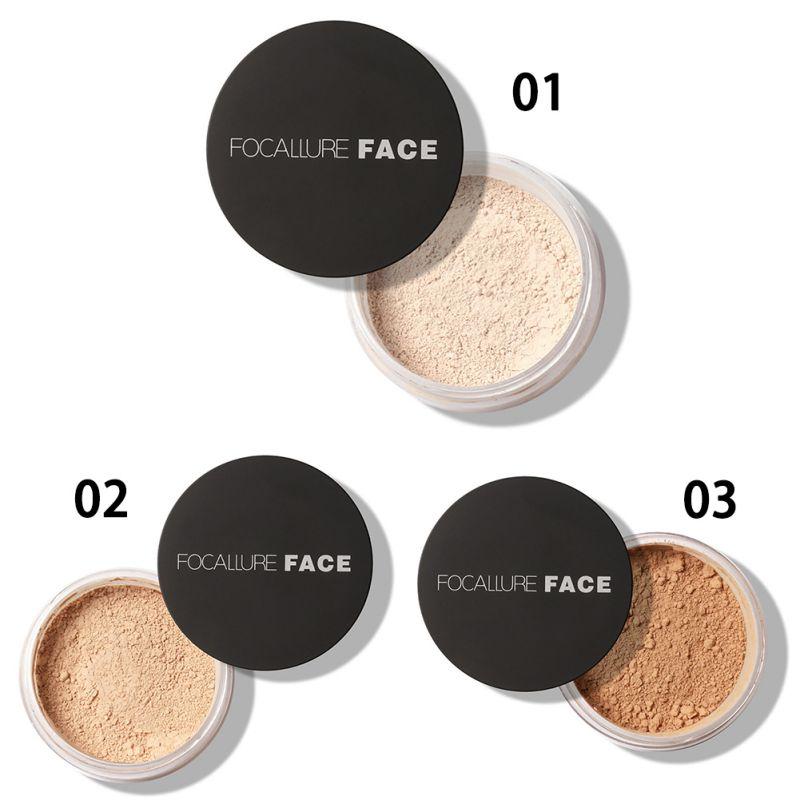 Women Natural Skin Smooth Loose Face Powder Makeup Concealer ...