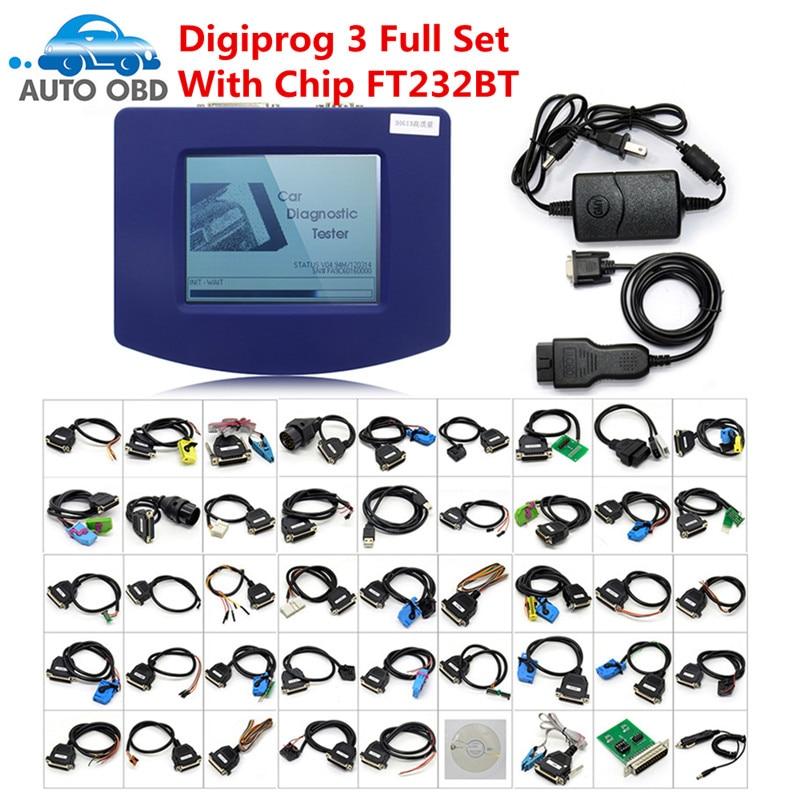 Digiprog 3 OBD2 16Pin Main Testing Cable Digiprog3 DIGIPROG III V4.94