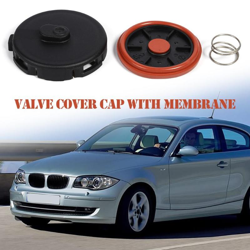VODOOL Replacement Car Valve Cover Accessories Cap+ Membrane For N46 Engine 11127555212 Cylinder Head Valve Covers Car Parts Hot