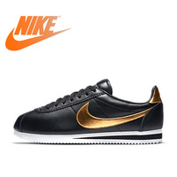 Original Official NIKE CLASSIC CORTEZ SE Men's Waterproof Running Shoes Sports Sneakers Durable Breathable Athletic 902801 002
