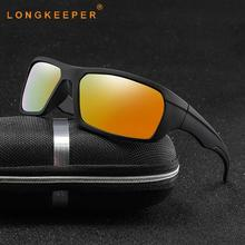 LongKeeper 2019 New Polarized Sunglasses Men Mirror Lens Sun Glasses Women Driving Sport Eyewear Goggle UV400 Oculos De Sol стоимость
