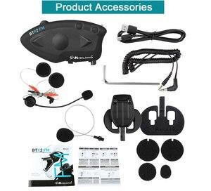 Image 5 - ミッドランド BTX2 FM オートバイのヘルメットインターコムの Bluetooth ヘルメットヘッドセットバイク 800 メートル BT インターホン Intercomunicador モト