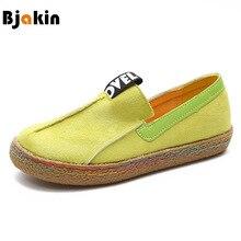 Bjakin حجم كبير 42 النساء أحذية رياضية 2018 تصميم جديد المتسكعون الإناث خفيفة الوزن المشي إضاءة أحذية Zapatillas Mujer ديبورتيفا