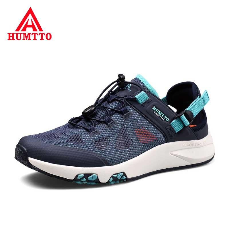 Nouvelle marque en plein air amorti doux baskets homme été respirant maille chaussures à eau antidérapant résistant à l'usure chaussures de plage