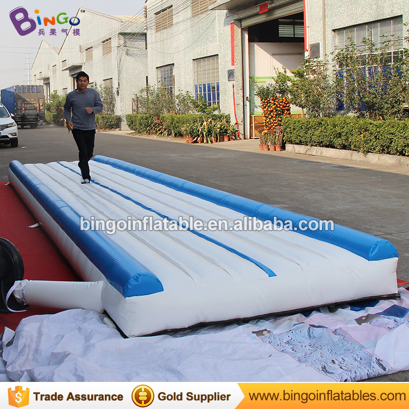 Free Shipping 9mX2m PVC material Inflatable Gymnastics landing mats for Toys sports