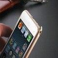 Ultra Fina de Alumínio Bumper Caso Armação de Metal de Luxo Para o iphone 6 Plus iPhone6 5.5 polegadas Para iPhone 6 de 4.7 polegadas