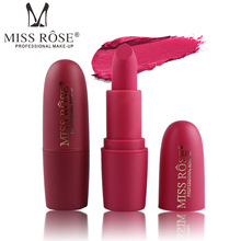 New MISS ROSE Lipstick Matte Waterproof Velvet Lip Stick 18 Colors Sexy High Quality Pigments Makeup Matte Lipsticks Beauty Lips