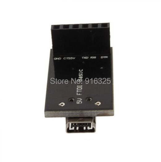FTDI Basic Breakout Arduino USB-TTL ASP 6 PIN 5V for MWC MultiWii Lite /SE+USB