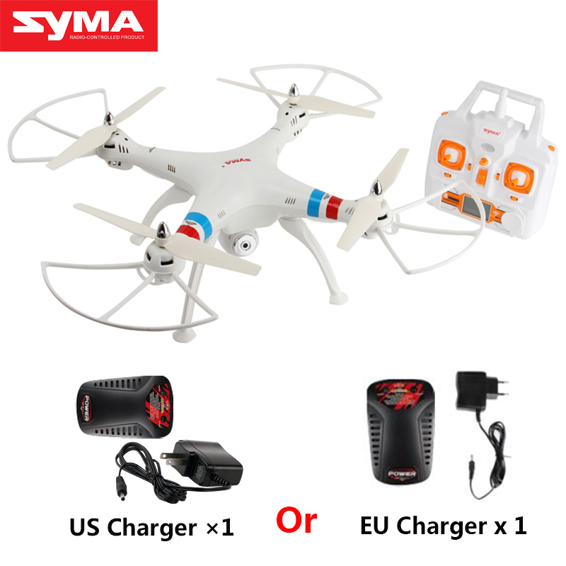 SYMA X8C Drone avec caméra 2.4G 4CH 6 axes Gyroscope RTF RC Drone avec caméra 2MP HD Quadrocopter hélicoptère télécommandé