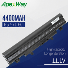 Apexway Laptop Battery AL14A32 For Acer Aspire E14 E15 E5 E5-531 E5-551 E5-421 E5-471 E5-571 E5-572 V3-472 V3-572 acer aspire e5 522g 82n8 grey nx mwjer 007