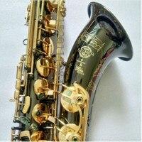 Новый черный никель золото тенор саксофоны SELMER STS 802 Bb Sax высокое качество Professional музыкальный инструмент с случае Бесплатная доставка