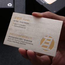 Customized 200pcs UV Personality Creative Business Card/Special paper/hang tag/label with Gold-stamped Two-sided Printed Code