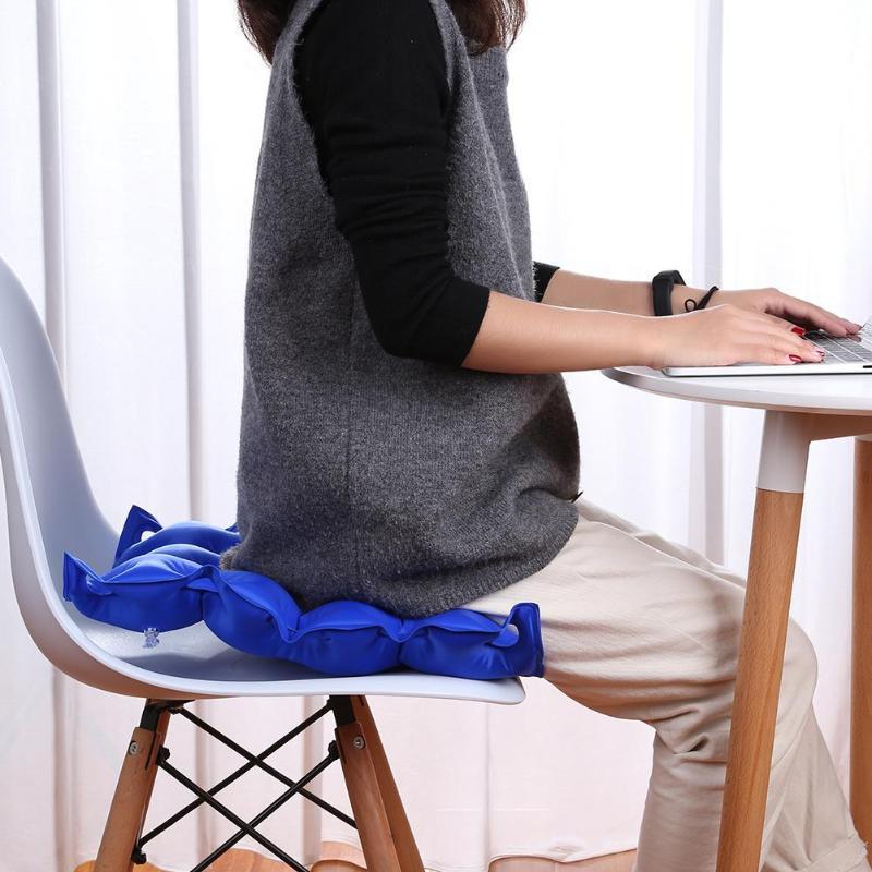 Medical Wheelchair Cushion Mat Inflatable Elderly Anti Bedsore Decubitus Chair Cushions Pad Home Office Seat Cushion