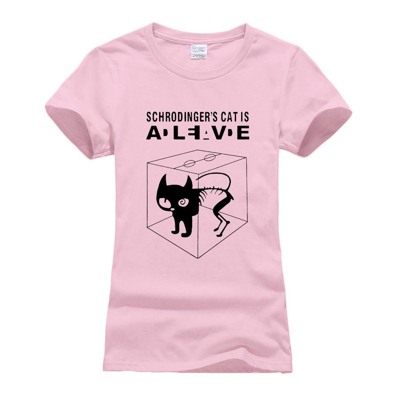 Kids Schrodingers Cat Tshirt Childrens Funny Science Big Bang Shrodinger