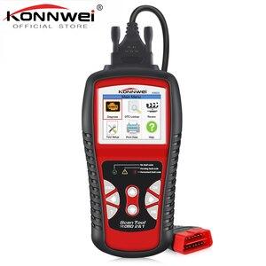 Image 1 - KONNWEI KW830 OBD2 ODB2 Automotive Scanner for Car Diagnosis Universal Auto Fault Error Code Reader ODB2 Car Diagnostic Scanner