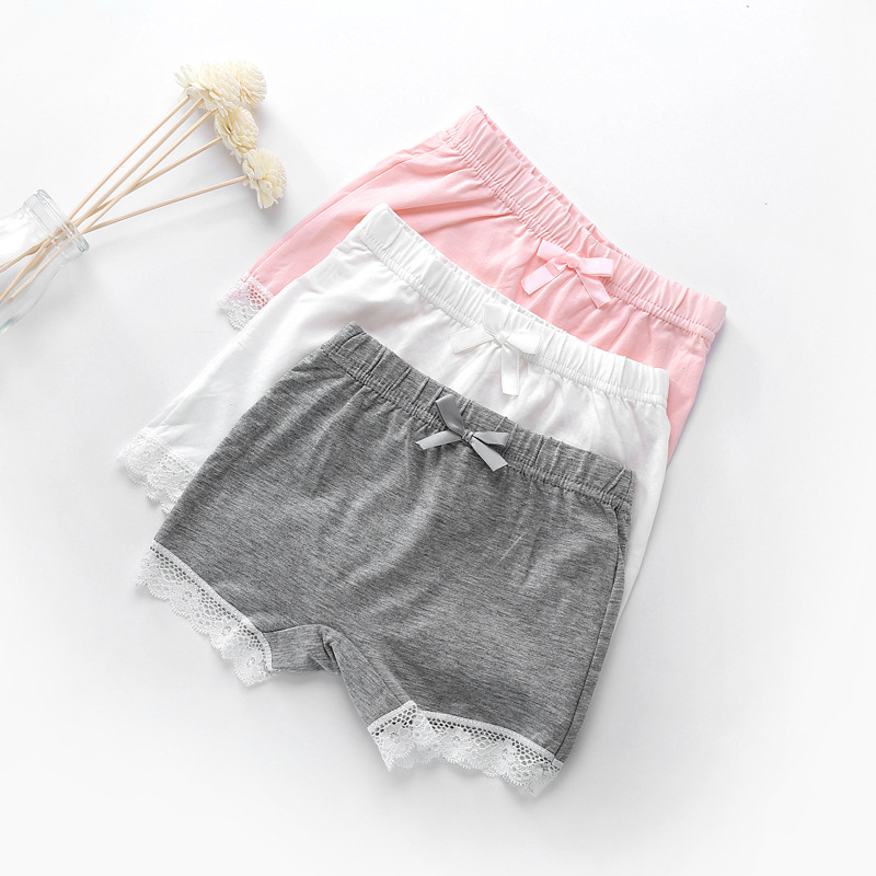 Kids Underwear Baby Girl Safety Short Pants Girls Boxer Briefs Cotton Kids Short Trousers Girls Safety Pants
