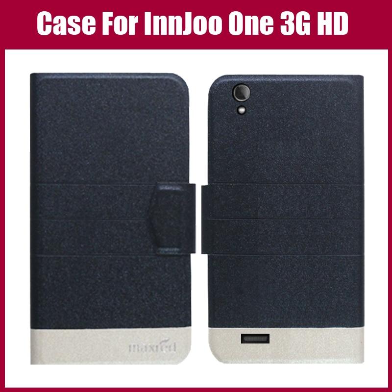 Pouzdro InnJoo One 3G HD Nové příchod 5 barev Módní Flip Ultra tenký kožený ochranný obal pro Pouzdro InnJoo One 3G HD