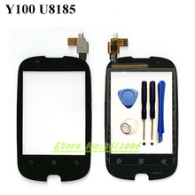 "2.eight"" For Huawei Y100 U8185 Black Contact Display screen Panel Digitizer Glass Lens Restore Elements Substitute FREE Delivery + instruments"